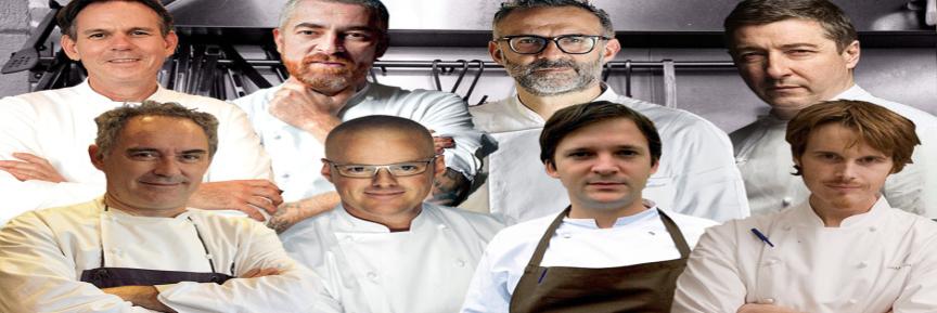 8 chefs mais reconhecidos do mundo